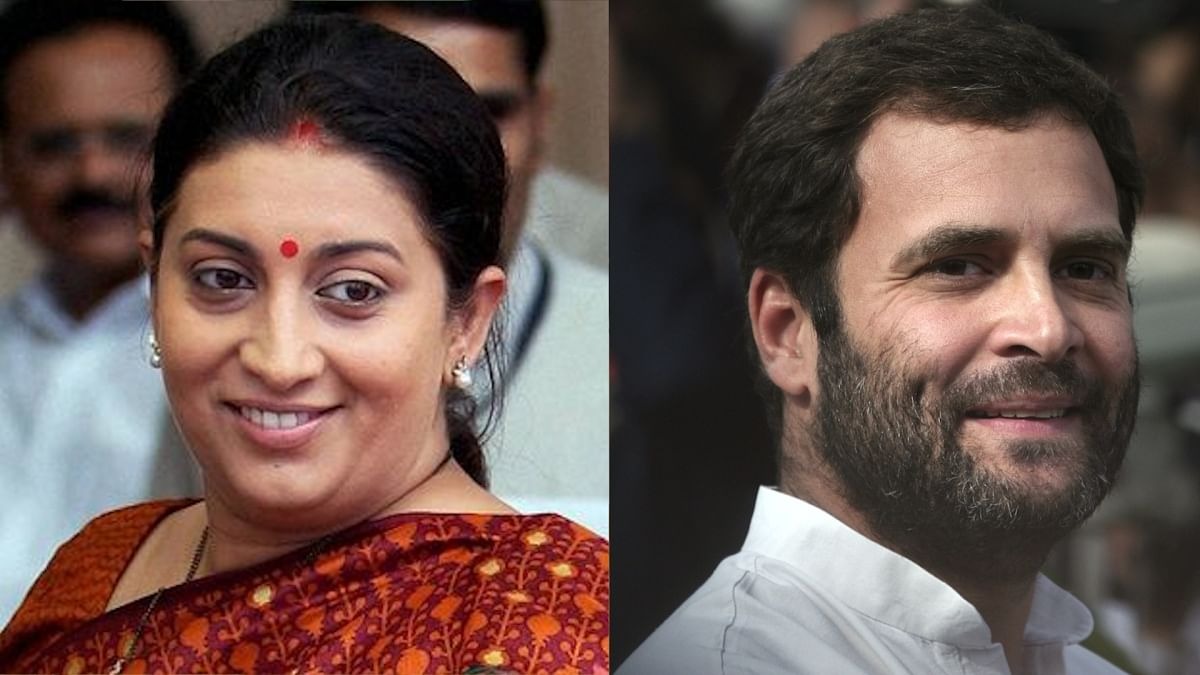 Rahul is Liked by Pak, Cares Little for Tricolour: Smriti Irani