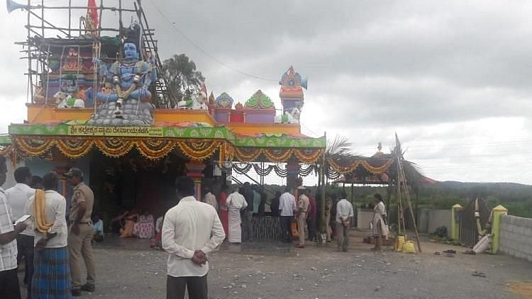 'You're like Chappals': Dalits Denied Entry into Karnataka Temple