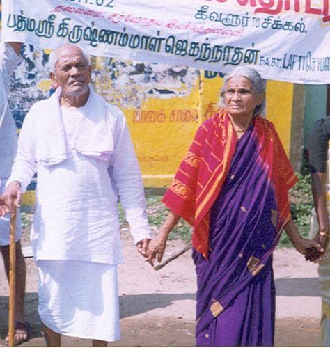 Krishanammal Jagannathan was a Gandhian who fought against social injustice.