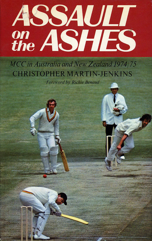 One of the most visible memories from it remains Richie Benaud in his soft mellifluous tone speaking about the 1974/75 Ashes played in Australia.
