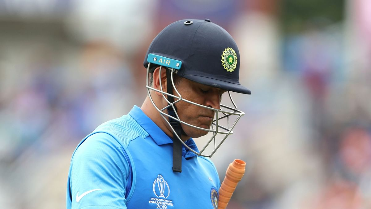 MS Dhoni hasn't played international cricket since the semi-final loss to New Zealand at the 2019 ICC World Cup.