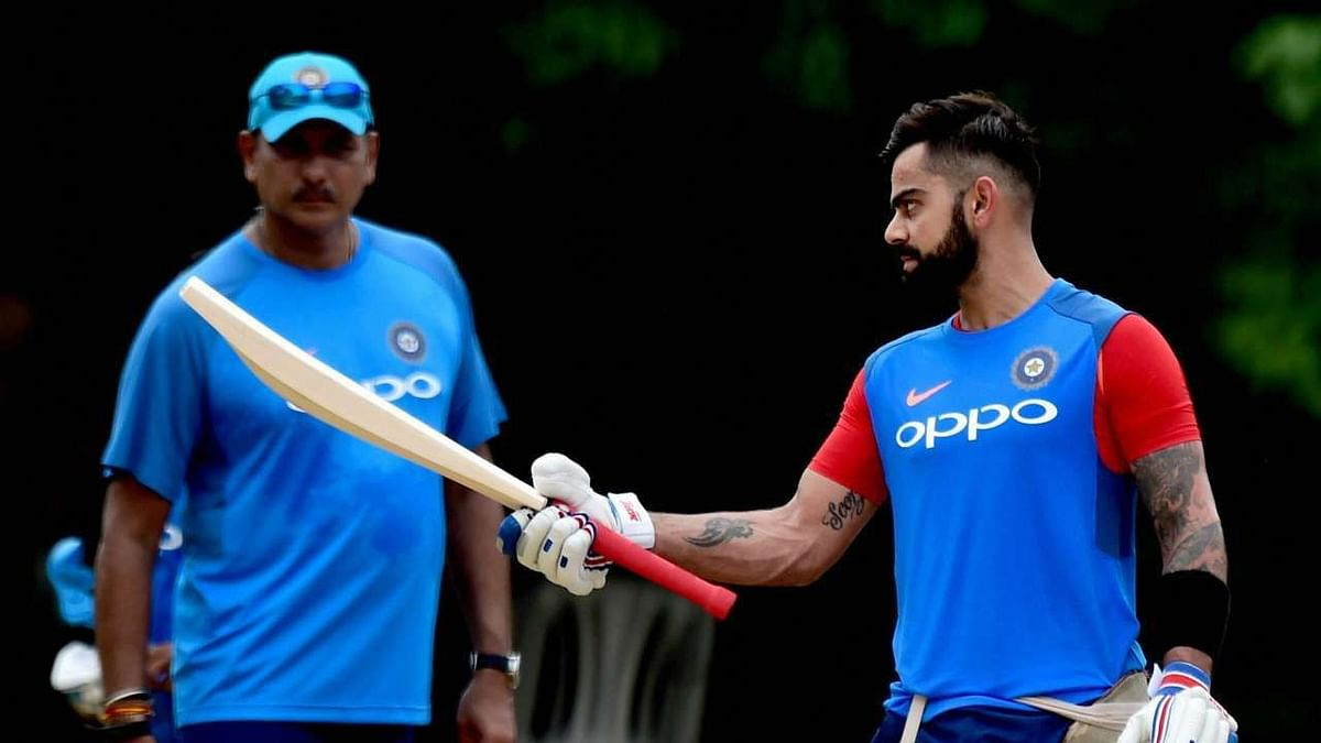 India head coach Ravi Shastri credited Virat Kohli for the improvement which the team has made in fielding and fitness.