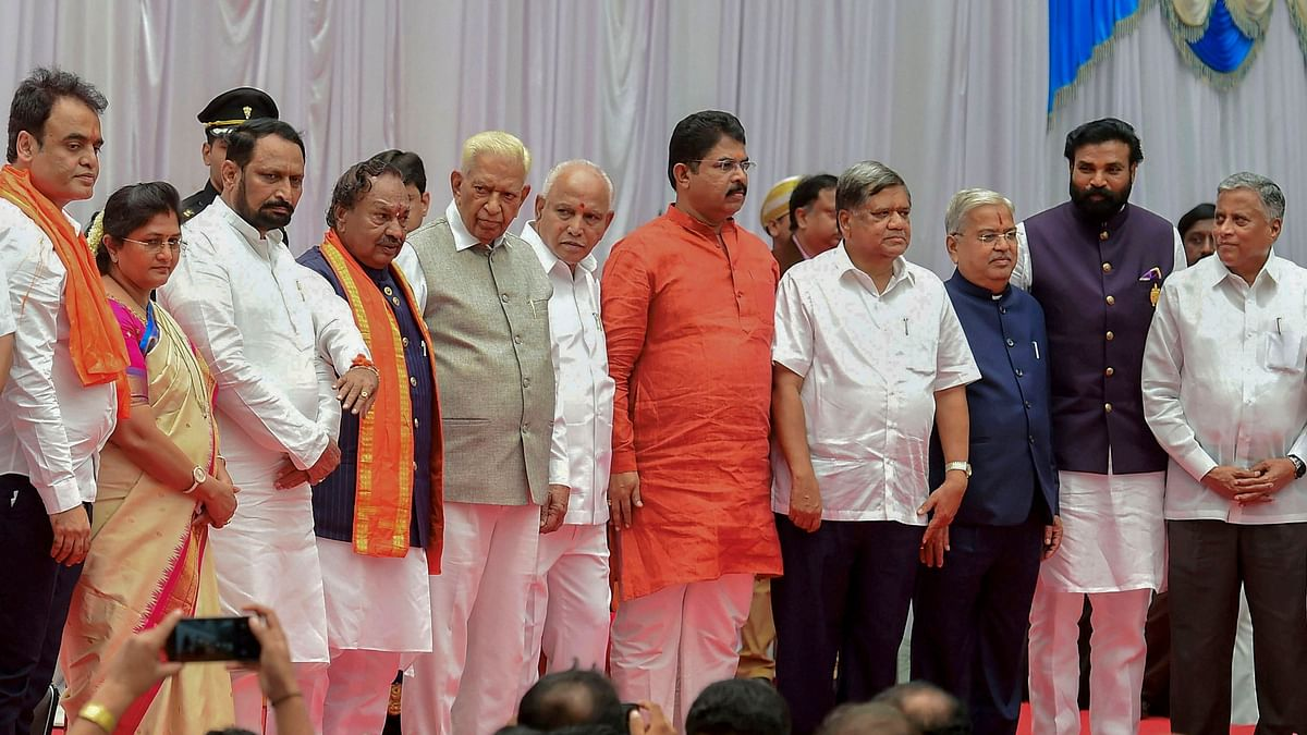 CM Yediyurappa Inducts 17 Ministers Into Lingayat-Heavy Cabinet