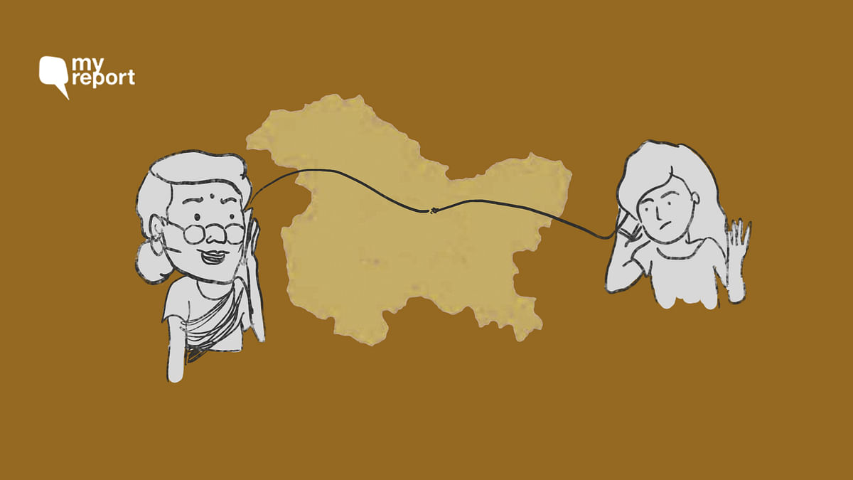 With No Communication in Kashmir, How Do I Make My Grandma Laugh?