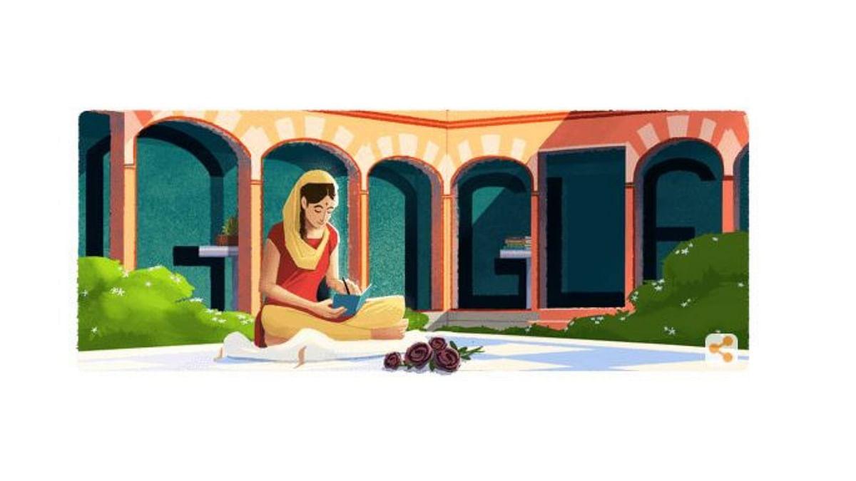 Google Celebrates Birth Centenary of Amrita Pritam with A Doodle