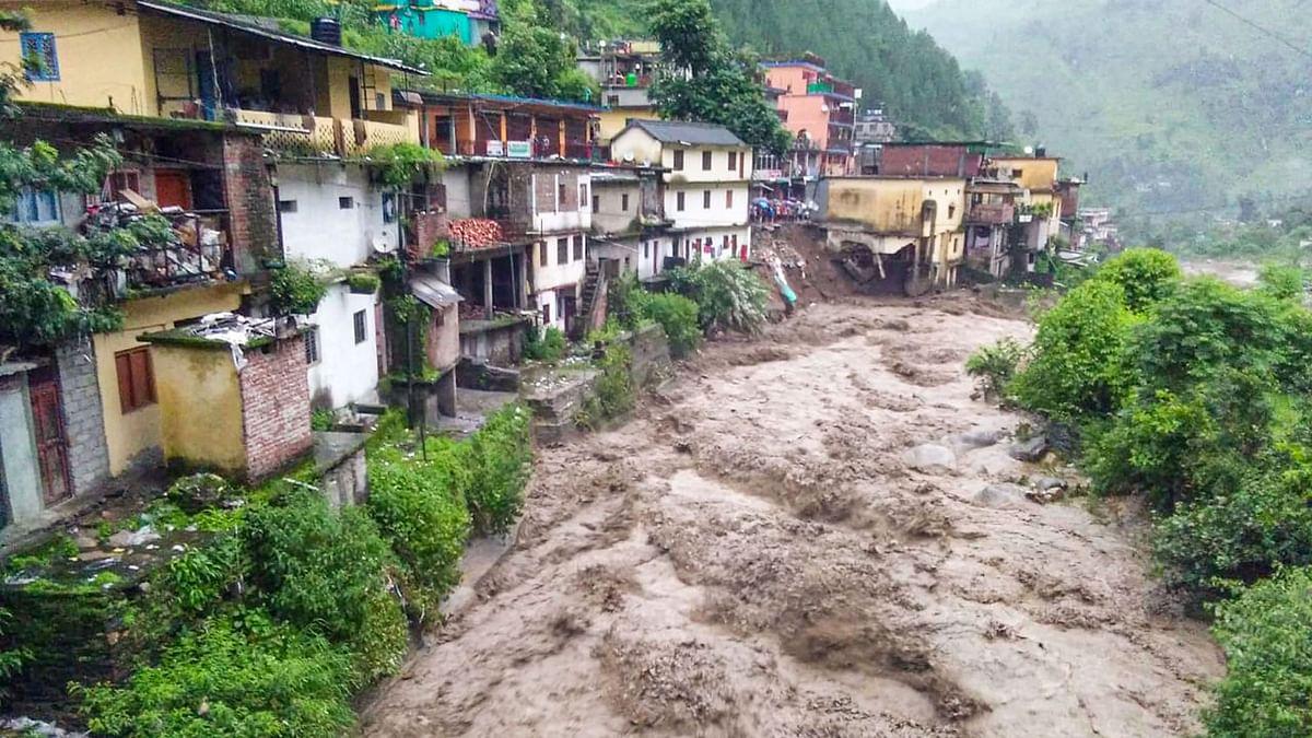 Houses Washed Away, 6 Killed After Cloudburst In Uttarakhand