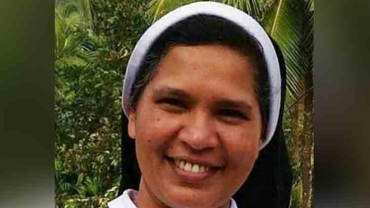 Sister Lucy, who was expelled for protesting against rape accused Bishop Franco Mulakkal