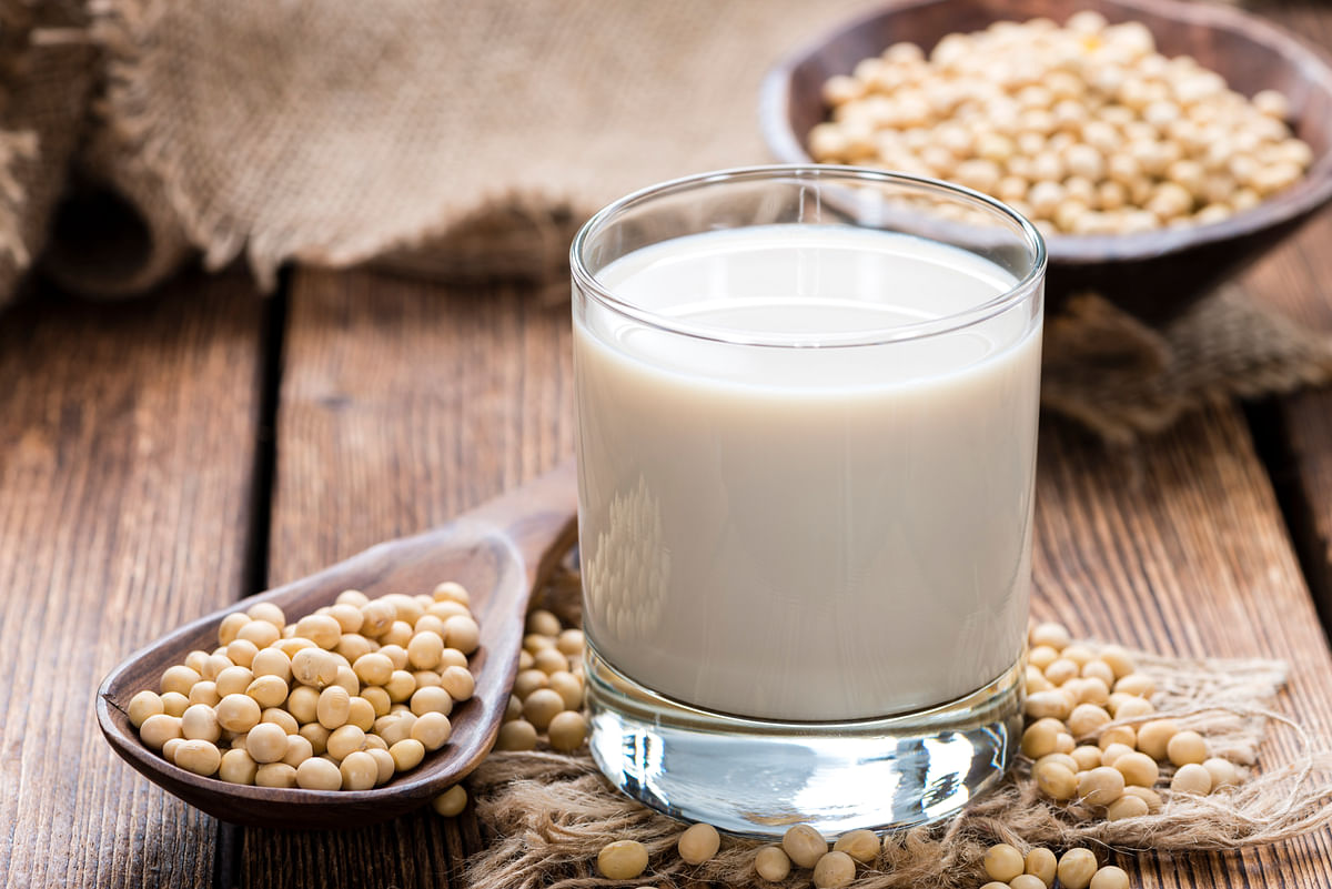 In terms of macronutrient composition, soy milk is the closest plant-based milk to cow's milk.