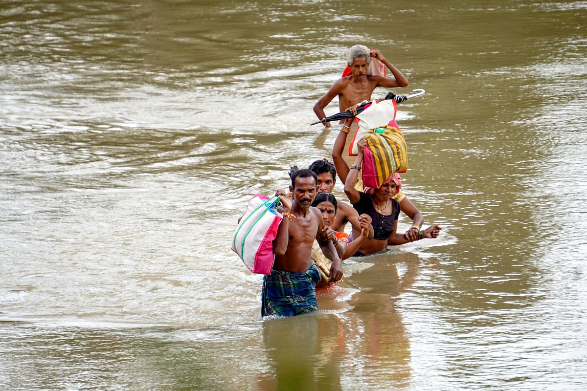 River Krishna Floods in Andhra, Over 11k Evacuated to Relief Camps