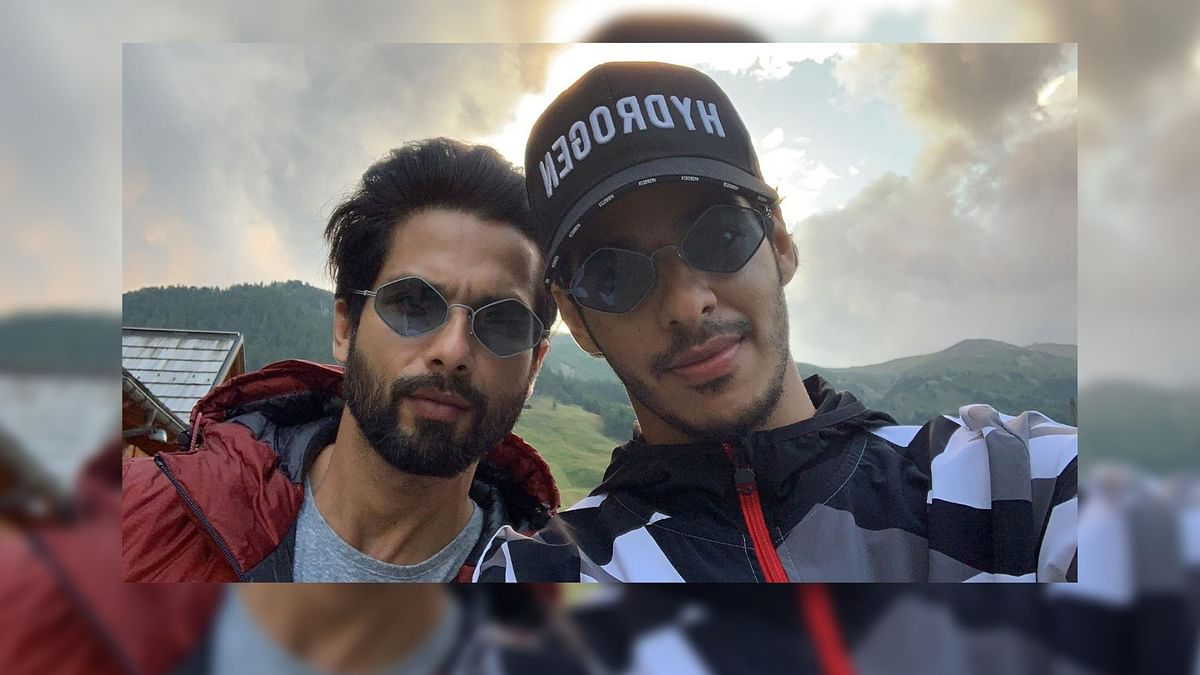 Shahid & Ishaan Khatter Hit the Roads of Europe on Their Bikes