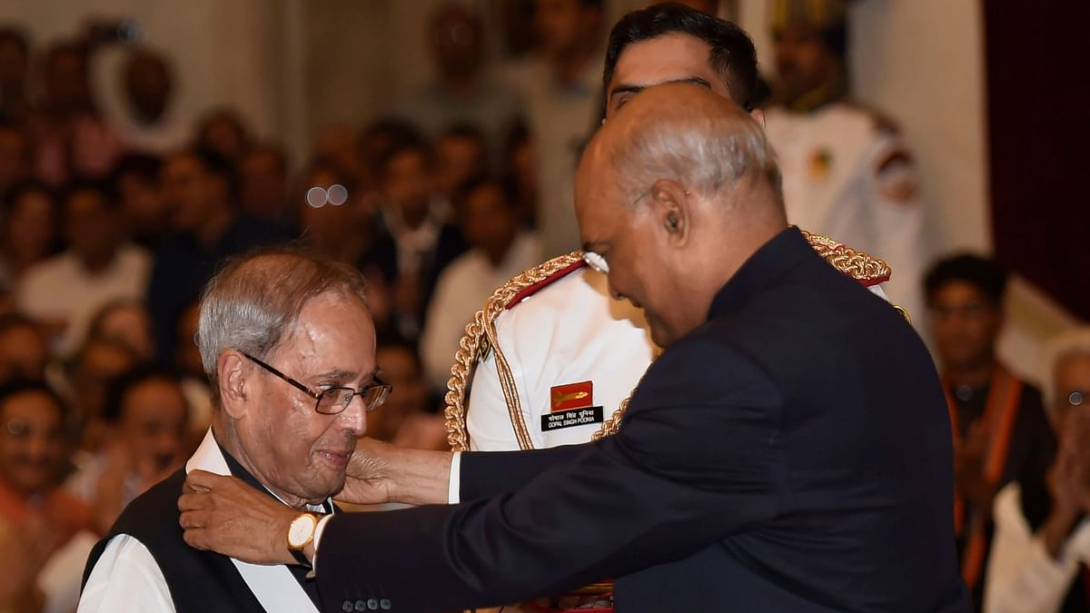 Ex-President Pranab Mukherjee, Two Others Awarded Bharat Ratna