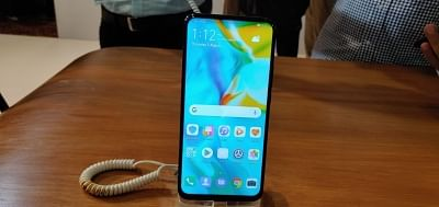 New Delhi: A Huawei Y9 Prime 2019 smartphone on display at the launch of the phones, in New Delhi on Aug 1, 2019. (Photo: IANS)