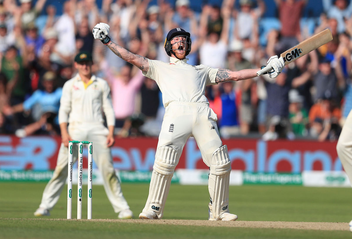Ben Stokes scored a stunning 135 not out as England beat Australia in the 3rd Ashes Test.