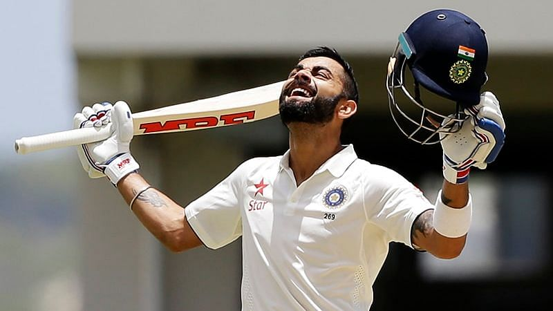 Virat Kohli's double century was the first by an Indian captain in an overseas Test,
