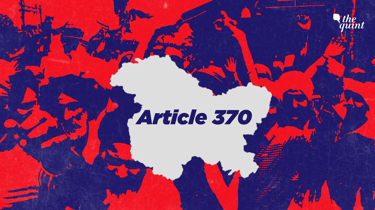 The impact of Article 370 in Kashmir.