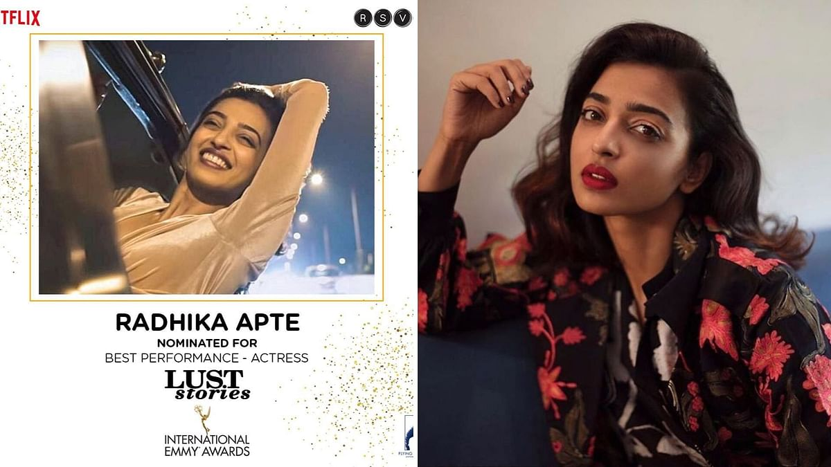 Radhika Apte nominated for an Emmy award.