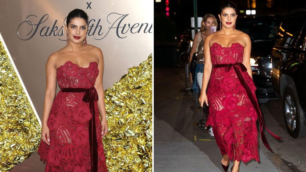 Priyanka Chopra at Vanity Fair's Best Dressed Party