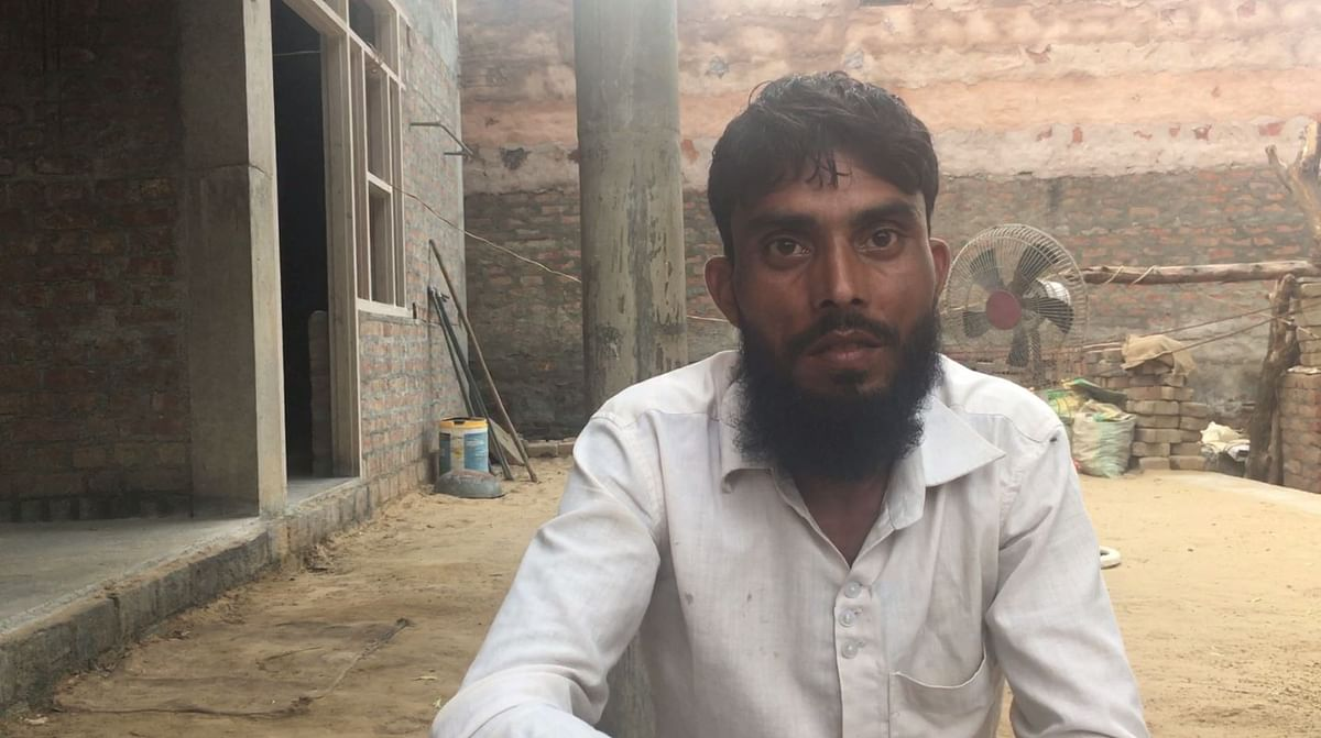 Aslam, a labourer by profession, used to travel for work but since the incident, he has not worked a day as he fears stepping out.