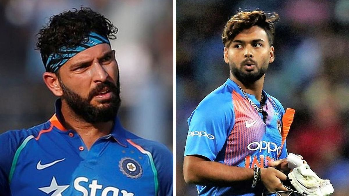 It's Wrong to Compare Rishabh Pant with MS Dhoni: Yuvraj Singh