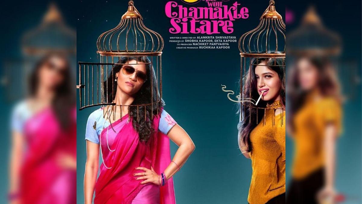 Konkona Sen Sharma and Bhumi Pednekar in a poster for 'Dolly Kitty Aur Woh Chamakte Sitare'.