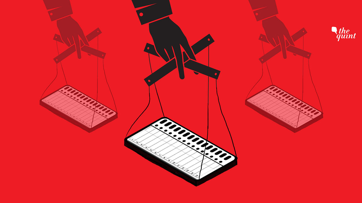 Non-Approved Private Company's Engineers Handled EVMs In Elections