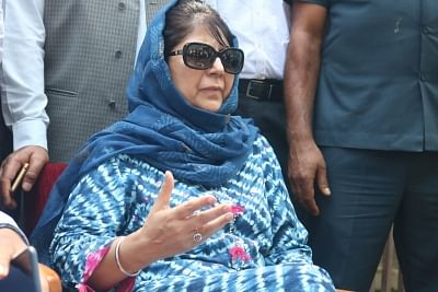 Former Jammu and Kashmir (J&K) Chief Minister and Peoples Democratic Party (PDP) leader Mehbooba Mufti. (Photo: IANS)