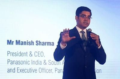 Panasonic India and South Asia President and CEO Manish Sharma. (Photo: IANS)