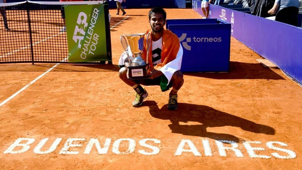 Sumit Nagal Wins Buenos Aires Challenger, Gets Career-Best Rank