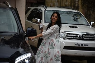 Mumbai: Actress Janhvi Kapoor seen at a Mumbai gym on Aug 31, 2019. (Photo: IANS)