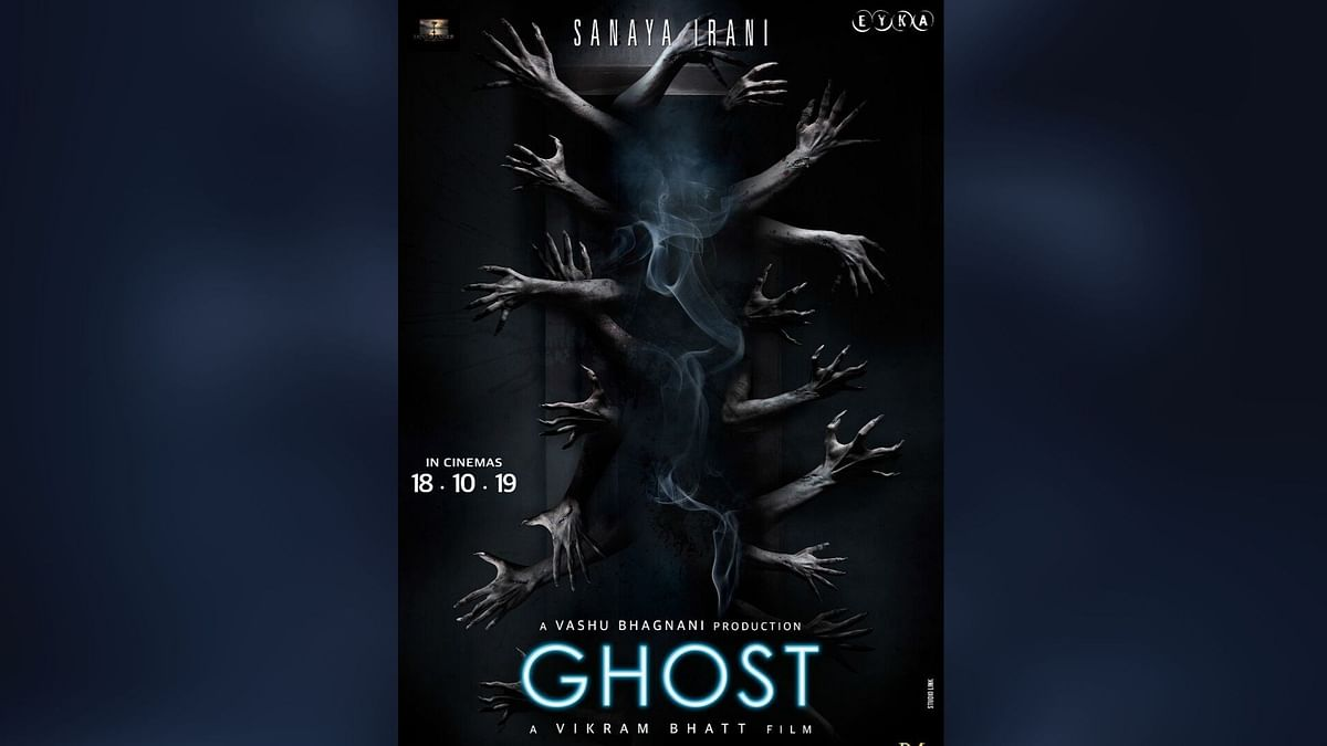 A poster of <i>Ghost.</i>