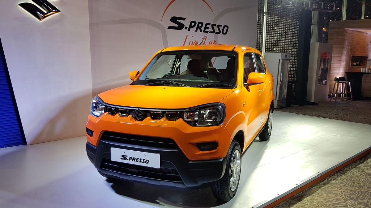 Maruti Suzuki S-Presso 'Mini SUV' Launched To Rival Renault Kwid