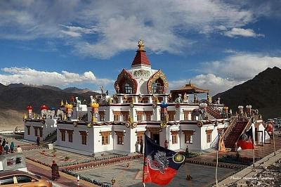 Leh: A carnival of Buddhist spirituality, culture and tradition, and a grand congregation of Drukpa masters, will begin from Monday at the 17th century Hemis monastery of Drukpa lineage in Leh, the largest such in the Himalayas. This time, a special celebration will be held to mark the granting of the Union Territory status to Ladakh, organisers said on Saturday. (Photo: IANS)
