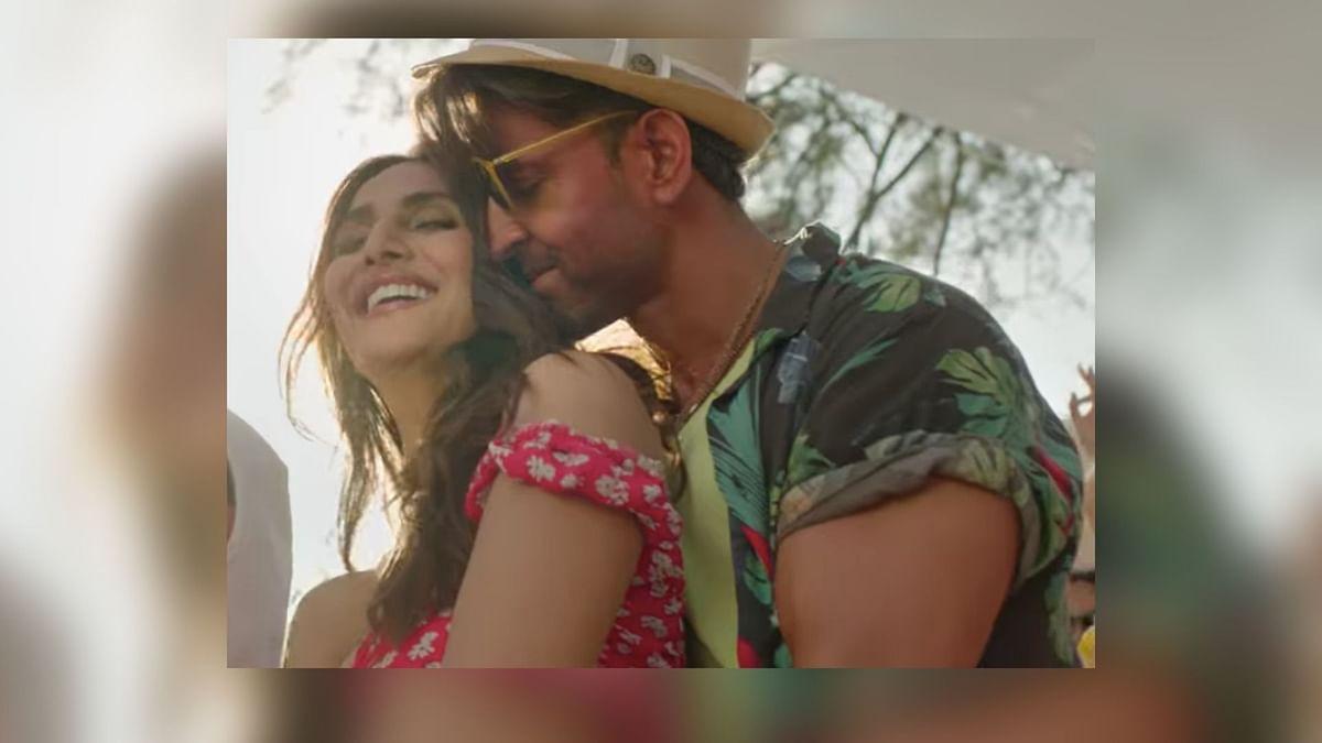 Hrithik Roshan and Vaani Kapoor romance in <i>Ghungroo</i>.