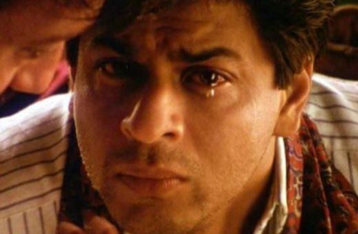 Shah Rukh Khan in 'Devdas'.