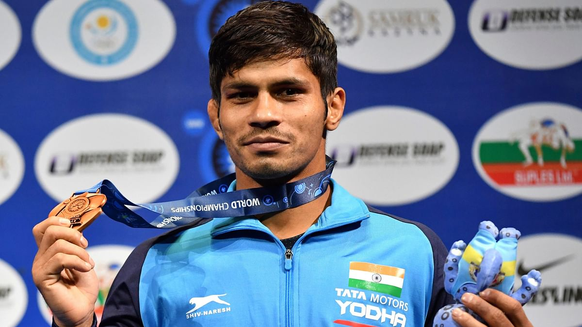 Indian wrestler <b>Rahul Aware has tested positive for coronavirus. </b>