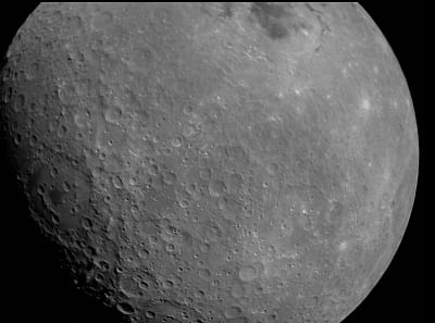 New Delhi: The first Moon image captured by Chandrayaan-2 spacecraft