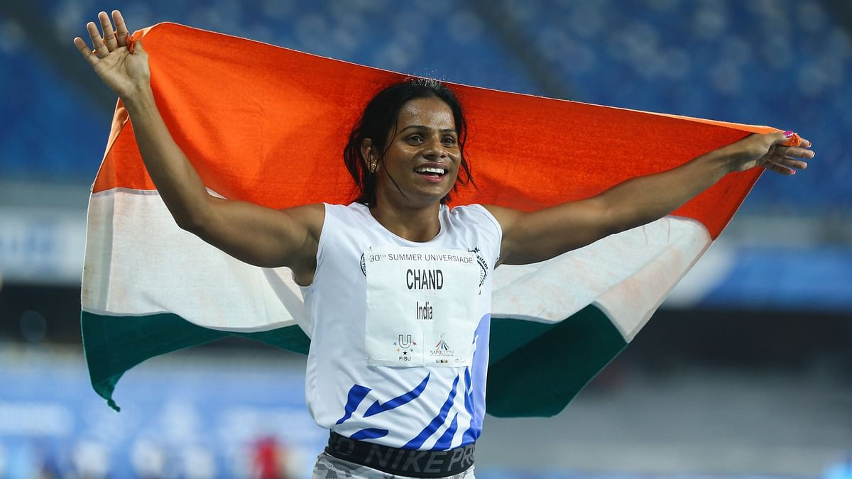 Dutee Chand bagged a gold at the World University Championship last year.