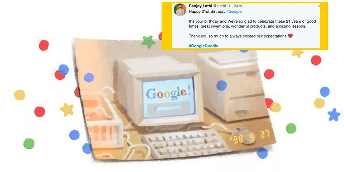 Google turns 21!