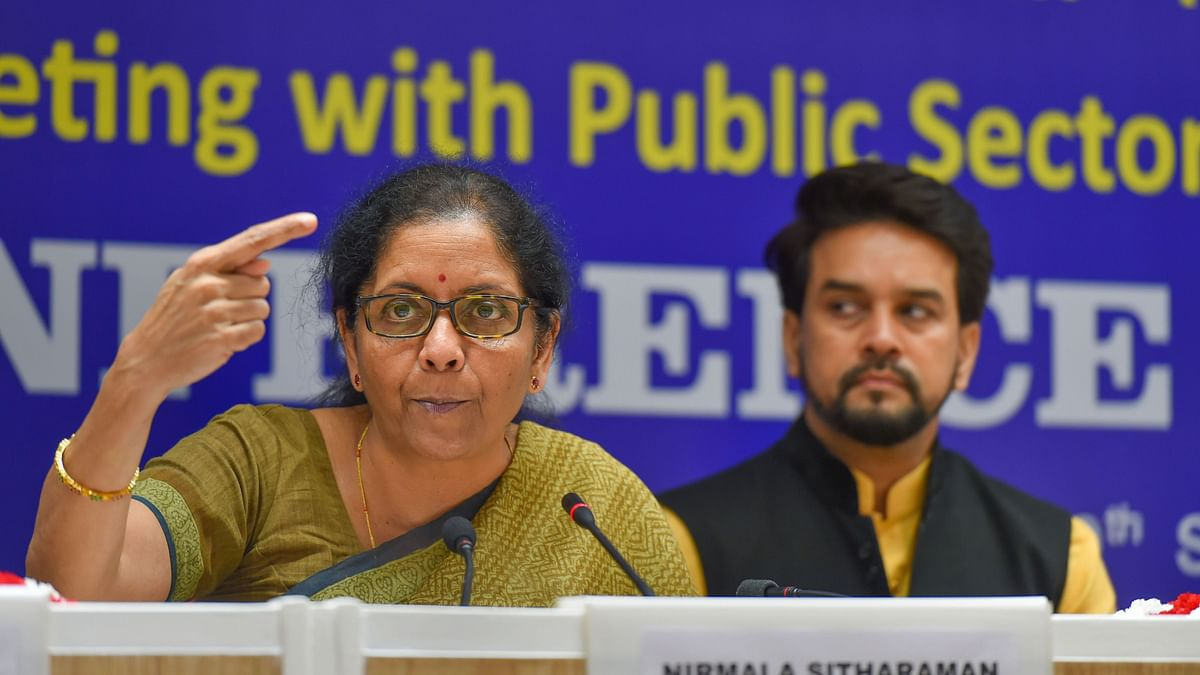 Banks to Hold 'Loan Melas' in 400 Districts From 3 Oct: Sitharaman