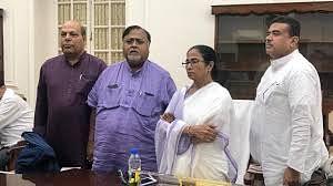 Senior Congress leader Om Prakash Mishra joins the Trinamool Congress.