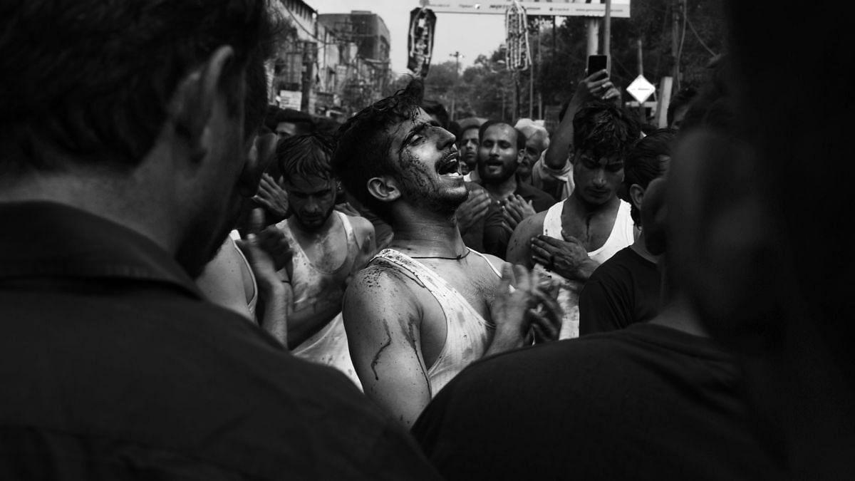 Archival image of a Muharram procession in Delhi used for representational purposes.