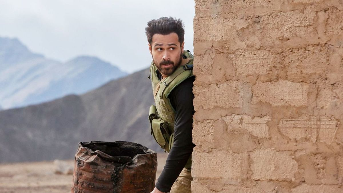 Emraan Hashmi in a still from the show.
