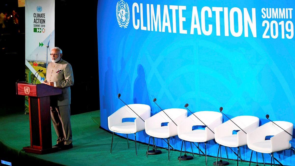 PM Modi at UN Climate Summit.