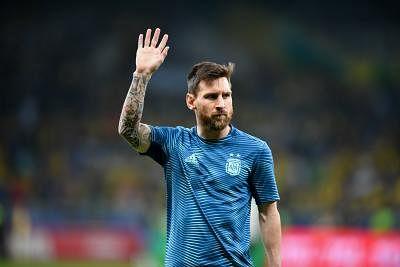 Lionel Messi. (Xinhua/Xin Yuewei)