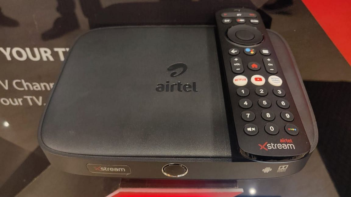 Airtel Launches Xstream Android TV Box to Rival JioFiber Internet