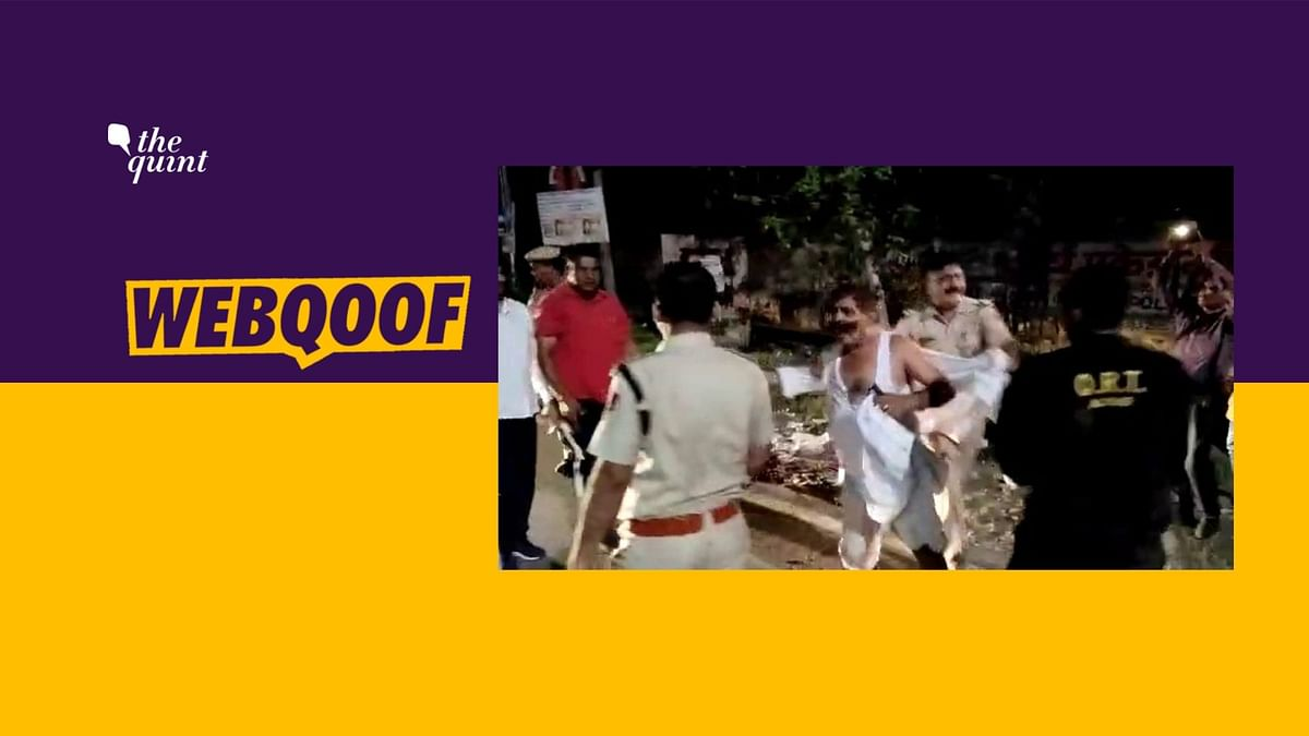 Police Action Post MV Act? No, Video From Student Protest in Alwar