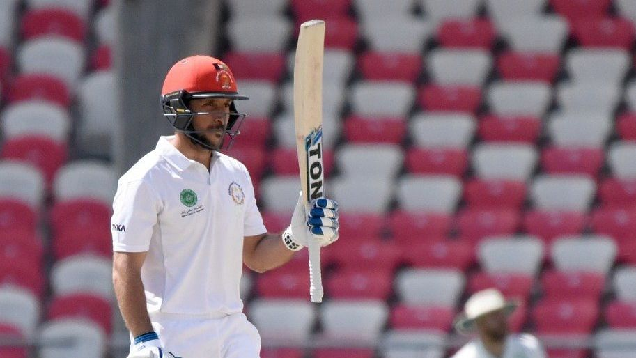 Rahmat Shah became the first from Afghanistan to hit a Test hundred.