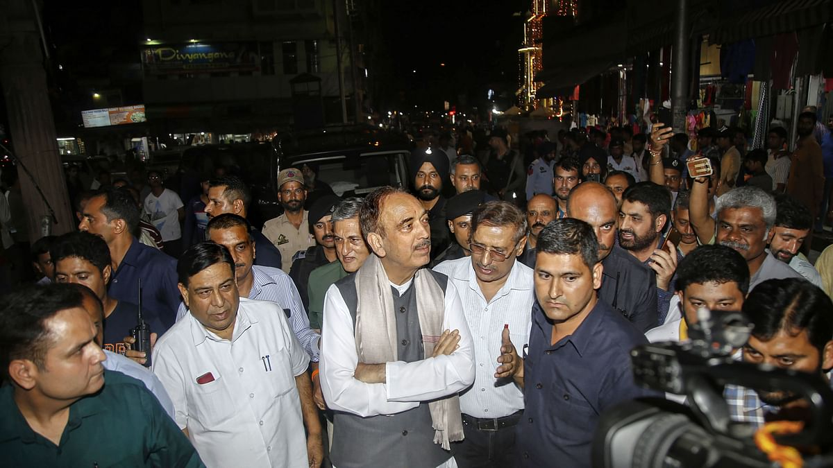 Situation 'Very Bad' in Valley: Ghulam Nabi Azad on Reaching Jammu