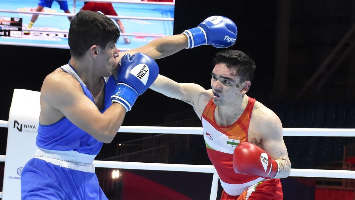 Duryodhan Singh Negi (69kg) lost to Jordan's Zeyad Eashash in the second round.