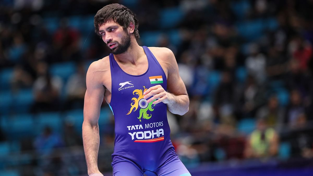 Ravi was up against Reza Ahmadali Atrinagharchi, the reigning Asian champion from Iran, in the bronze medal bout.